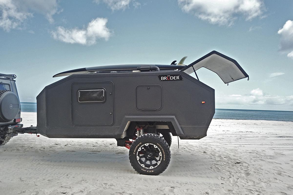 The Bruder EXP-4 has a rugged composite body built for all-terrain exploration