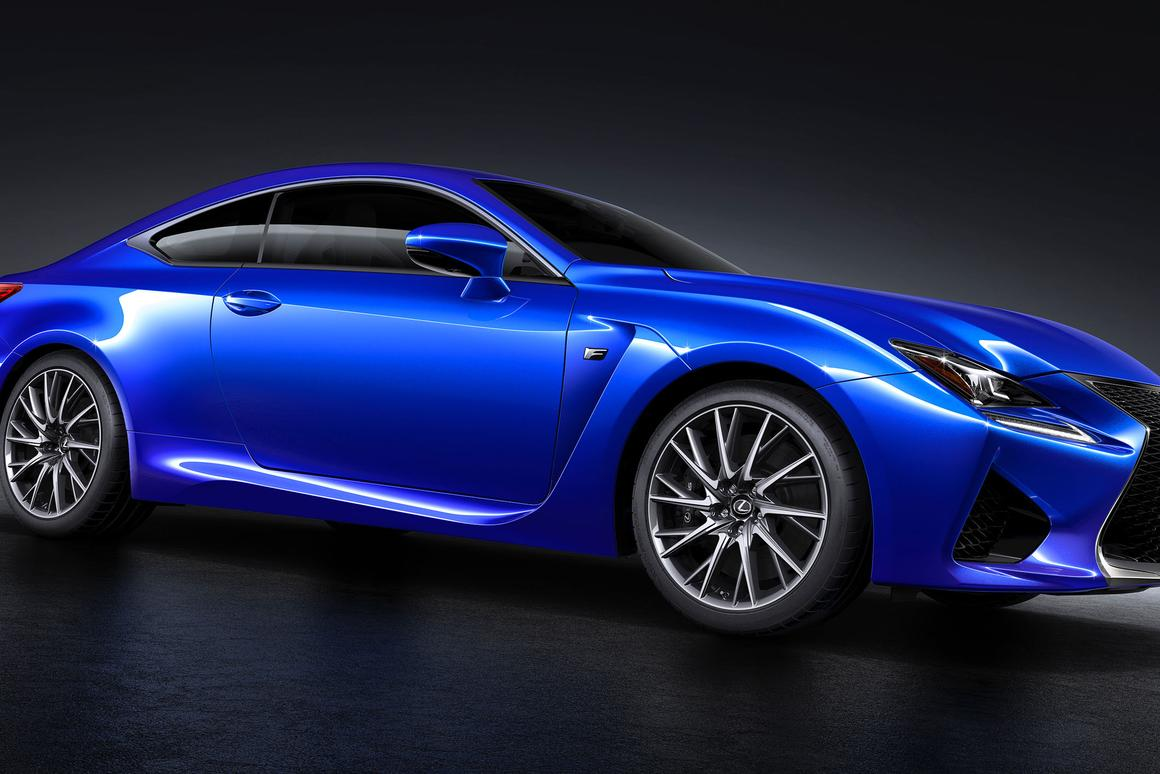 The Lexus RC F debuted at the Detroit Auto Show