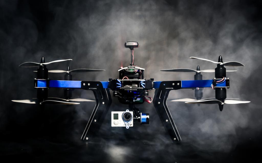 3D Robotics' new X8+ quadcopter