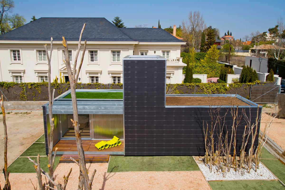 Madrid-based architectural studio CSO Arquitectura teamed up with prefab construction specialists Torsan to create SAVMS (Photo: CSO Arquitectura)