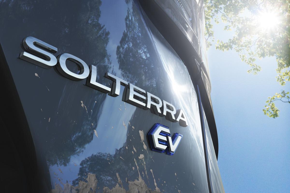 The Subaru Solterra EV will come to market in 2022