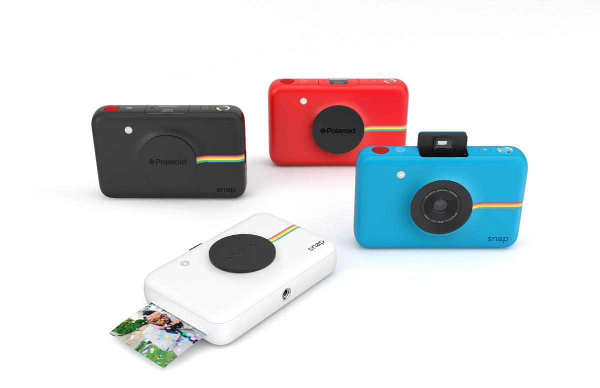 The Polaroid Snap instant digital camera is expected to be available in black, white, red, and blue