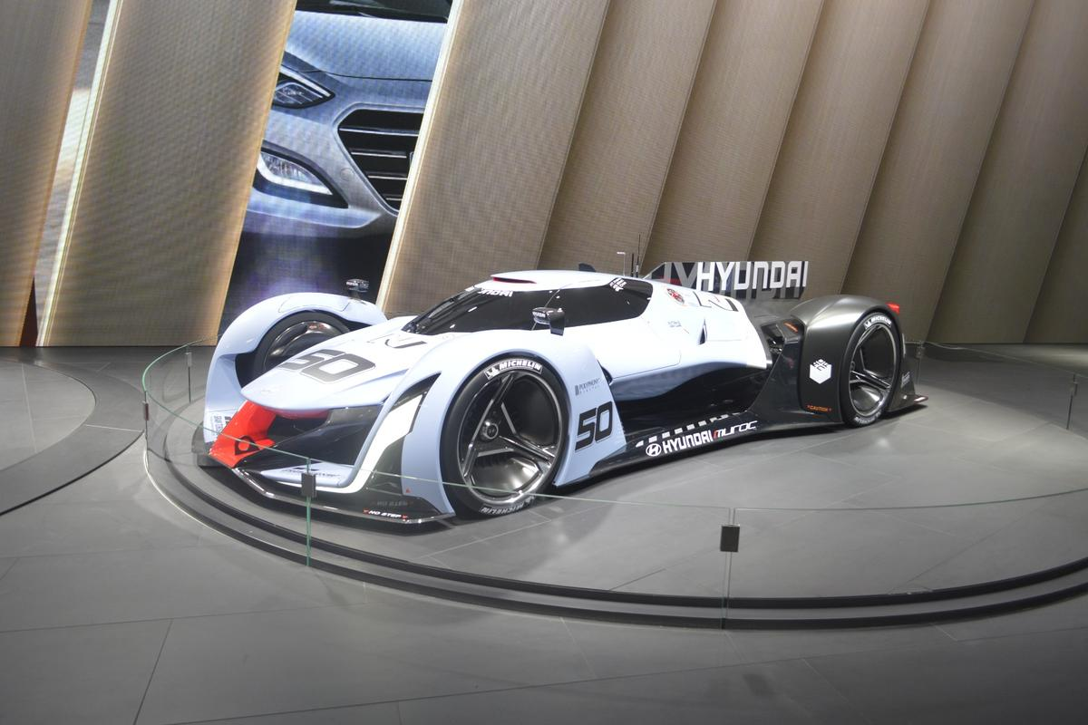 The N 2025 Vision Gran Turismo has been designed for PlayStation's Gran Turismo racing game
