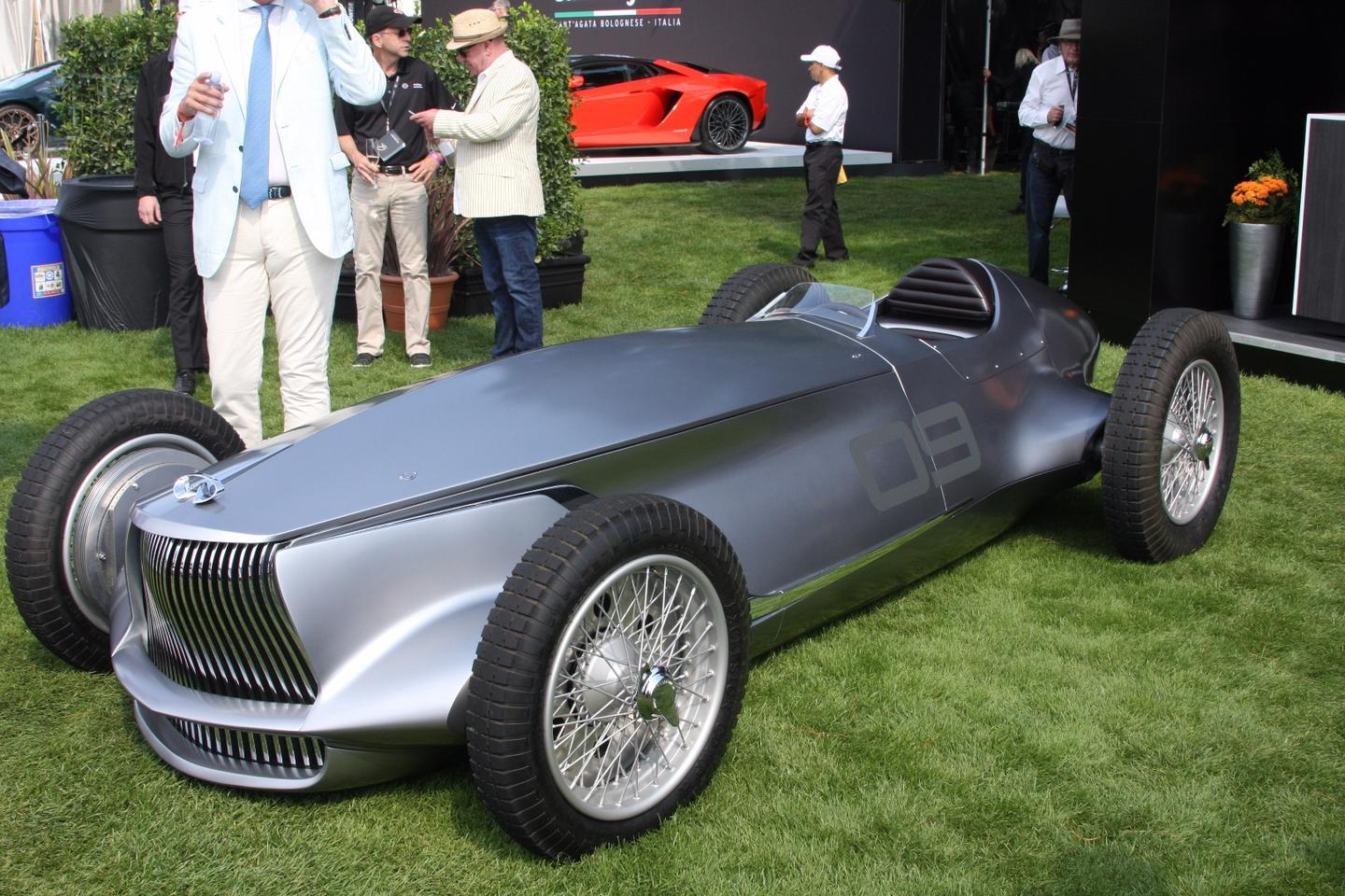Infiniti shows the Prototype 9 at Pebble Beach Concours d'Elegance 2017