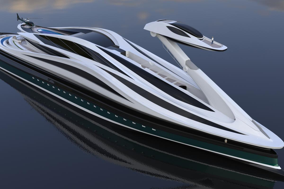 The Avanguardia is a purely conceptual design at the moment but designer Pierpaolo Lazzarini estimates that it would cost US$500 million to build