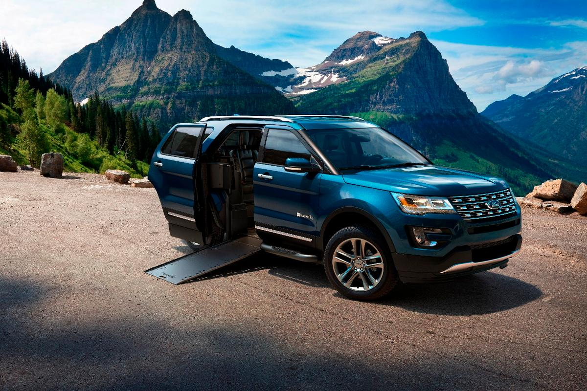 BraunAbility makes the Ford Explorer wheelchair-friendly