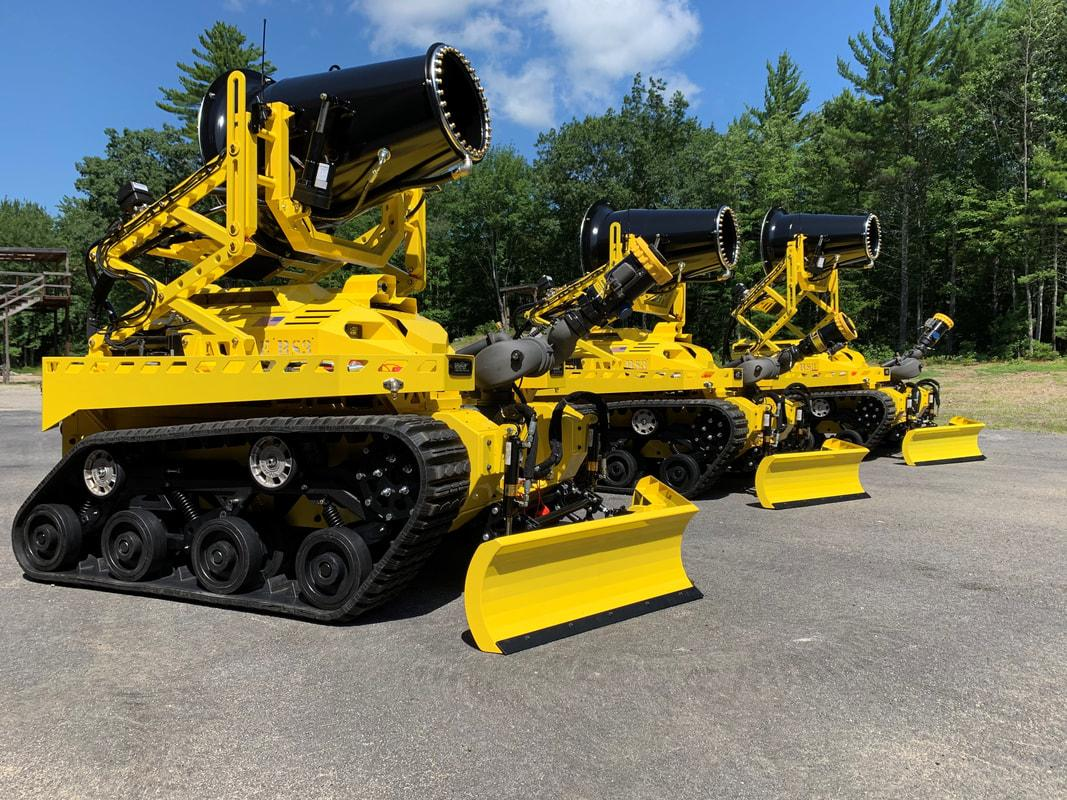 Thermite RS3는 Maine 소재 로봇 회사 Textron : Howe & Howe Technologies에서 생산합니다.