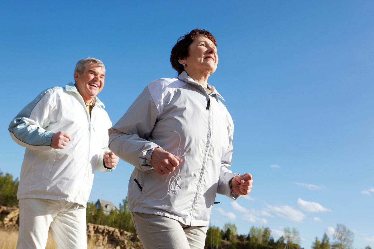 A total of 150 minutes of aerobic activity per week is recommended