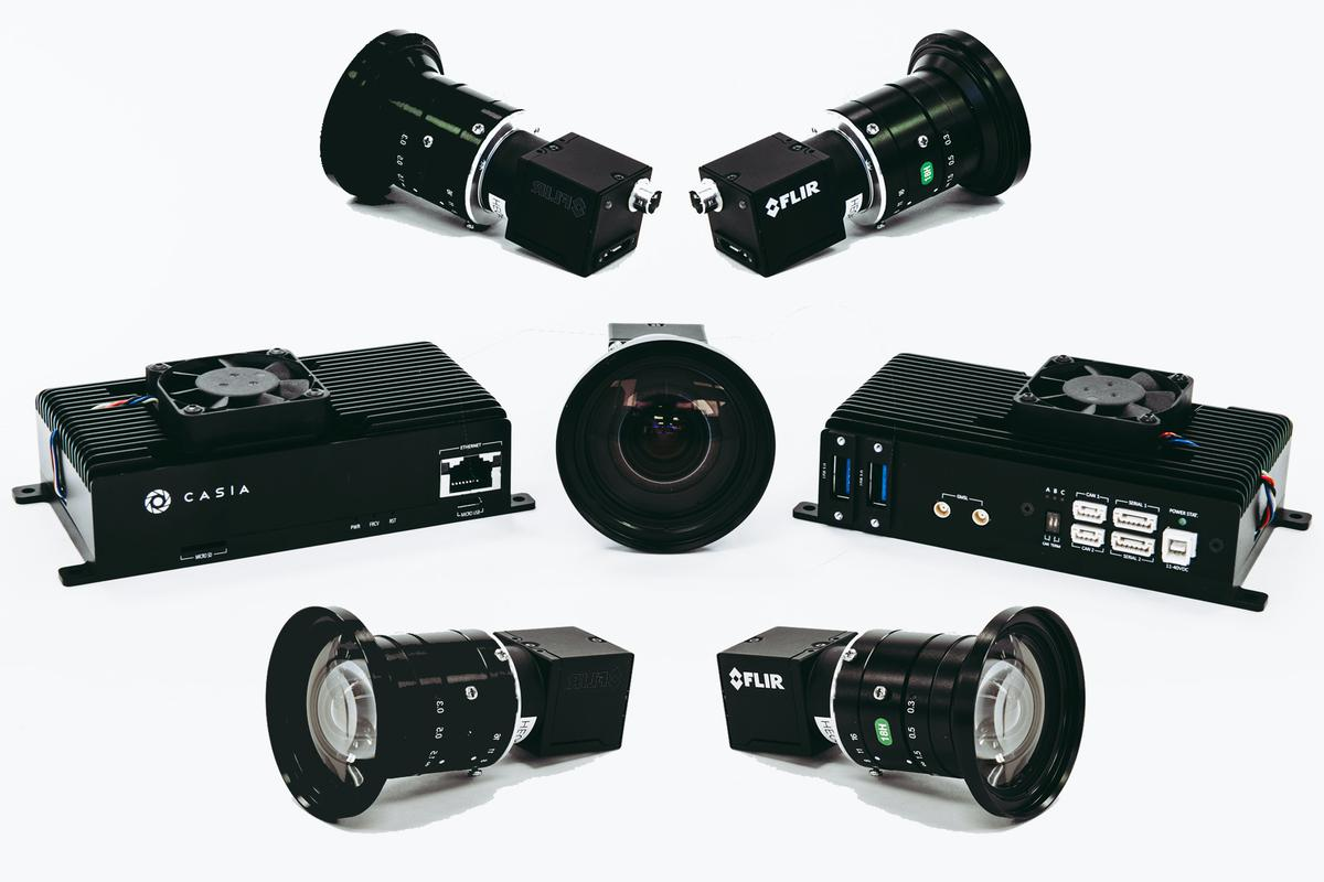 The complete Casia 360 system