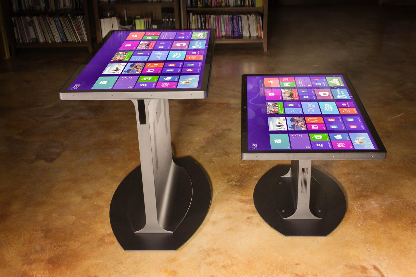 Ideum has teamed up with 3M Touch Systems to launch the Platform 46 range of Windows 8 multi-touch tables