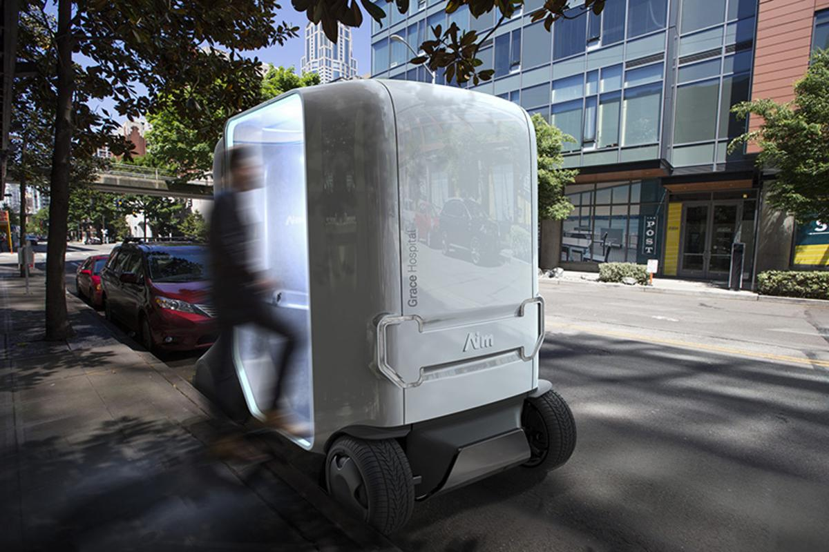 The self-driving clinic not only offers AI diagnostics but could transport high-risk patients to hospitals