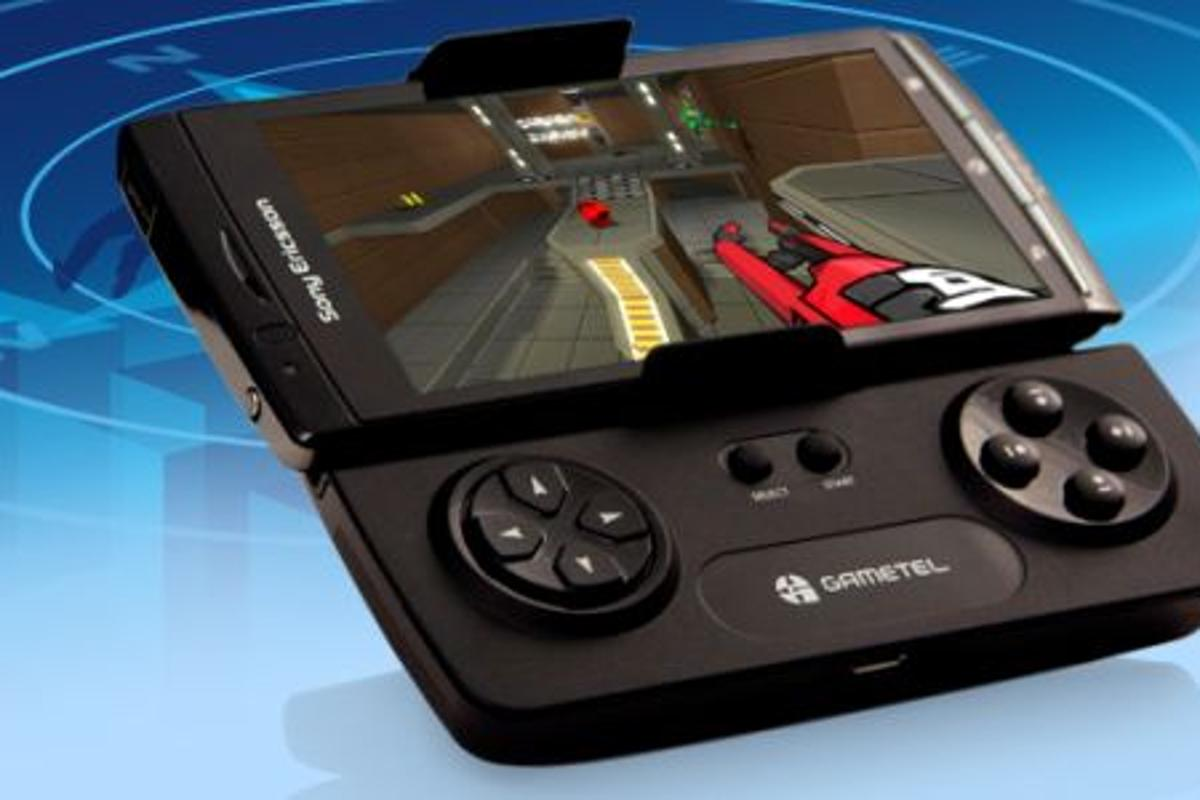 Gametel is a wireless detachable gamepad for Android 2.1 (and up) and iDevices, that supports over 50 titles