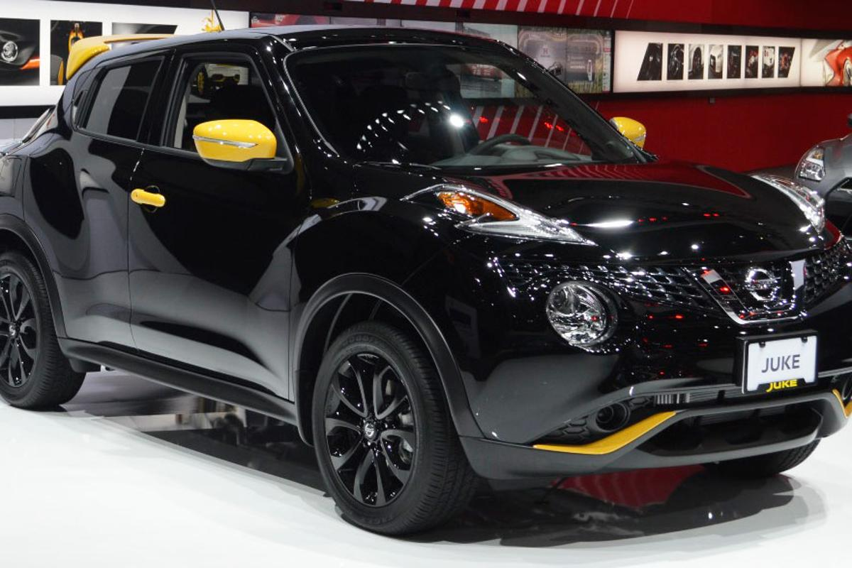 A Nissan Juke Stinger Edition at the LA Auto Show