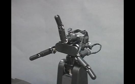 Pray that this robot hand isn't out to get you.