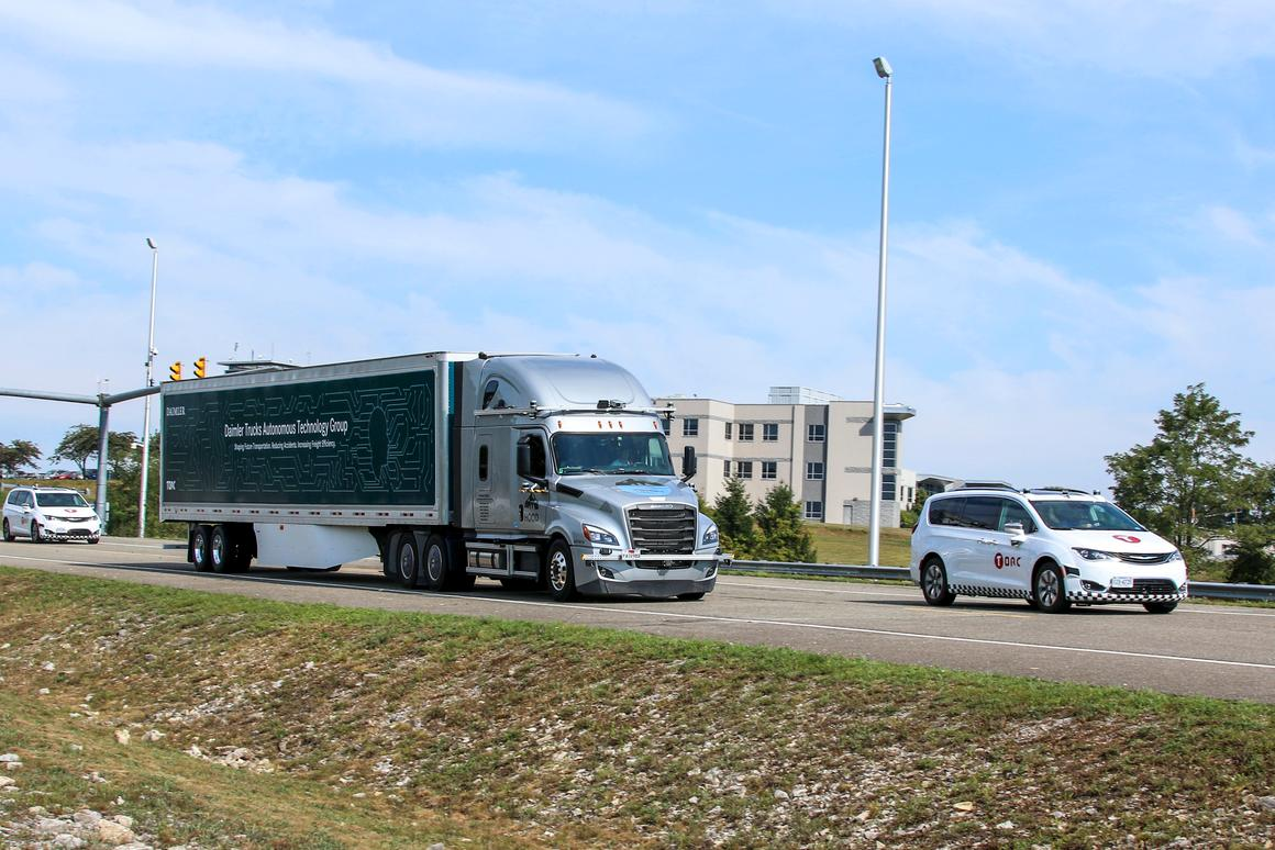 Daimler Trucks and Torc Robotics are development and testing trucks with Level 4 autonomous technology on public roads in Virginia