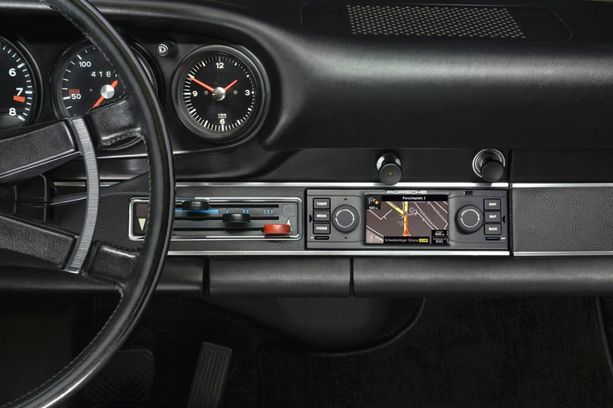 Porsche is offering navigation for its classic cars, with a system designed to maintain the classic aesthetic of its old dashboards