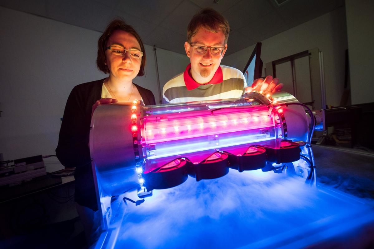 The prototype heating/cooling system uses the remarkable properties of shape-memory nitinol metals for environmentally friendly cooling and heating