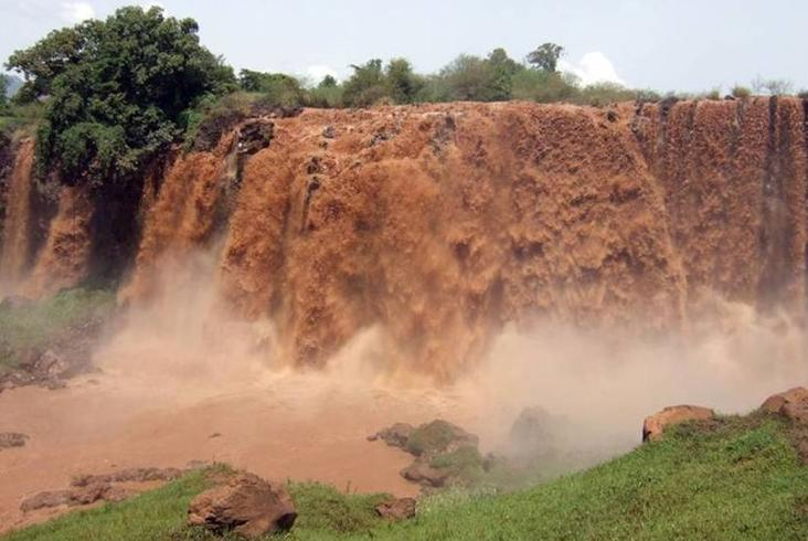 The Blue Nile River Basin in Ethiopia might experience increased water flow as a result of climate change