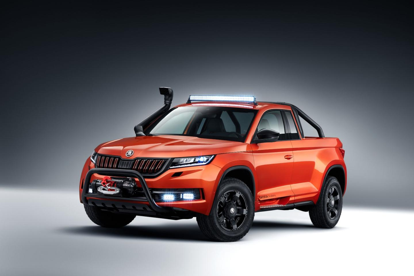 The concept's name, Mountiaq, is meant to convey a spirit of adventure and off-road capability