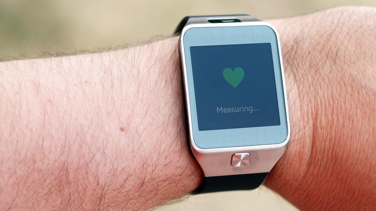 The Gear 2's heart rate sensor is one of its best features