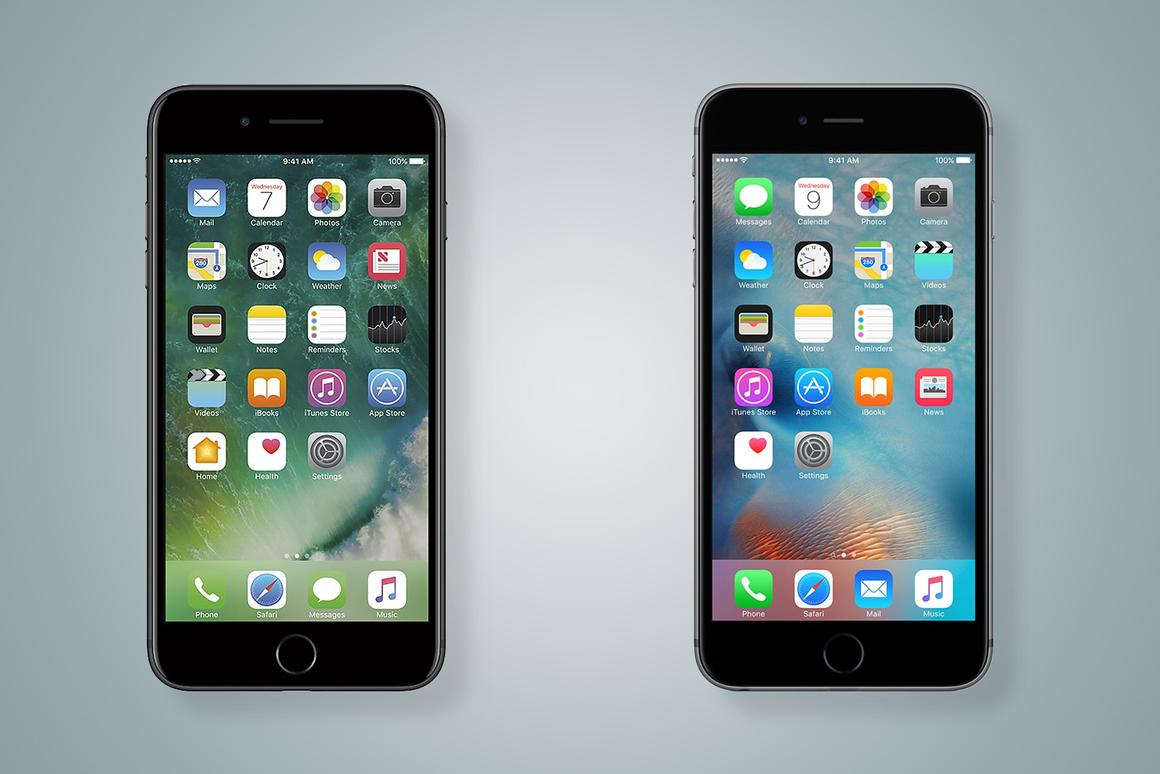 New Atlas compares the features and specs of the new iPhone 7 Plus (left) and iPhone 6s Plus