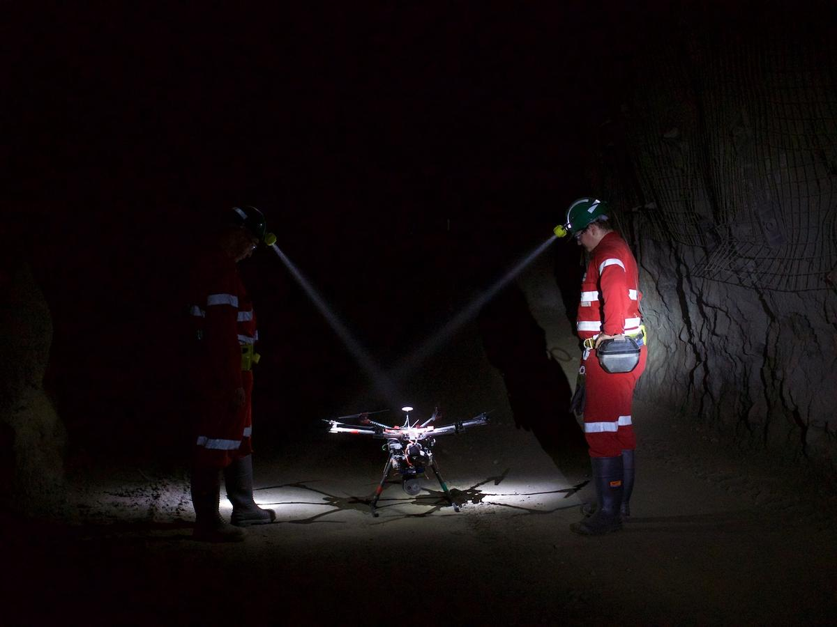 The imaging and mapping potential of drones flying high above the ground is well enough documented, but they also hold great potential for environments deep beneath the Earth's surface