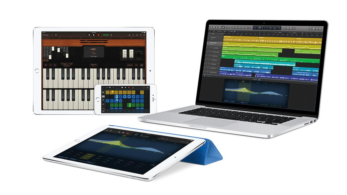 Apple made some significant updates to GarageBand for iOS and Logic Pro X