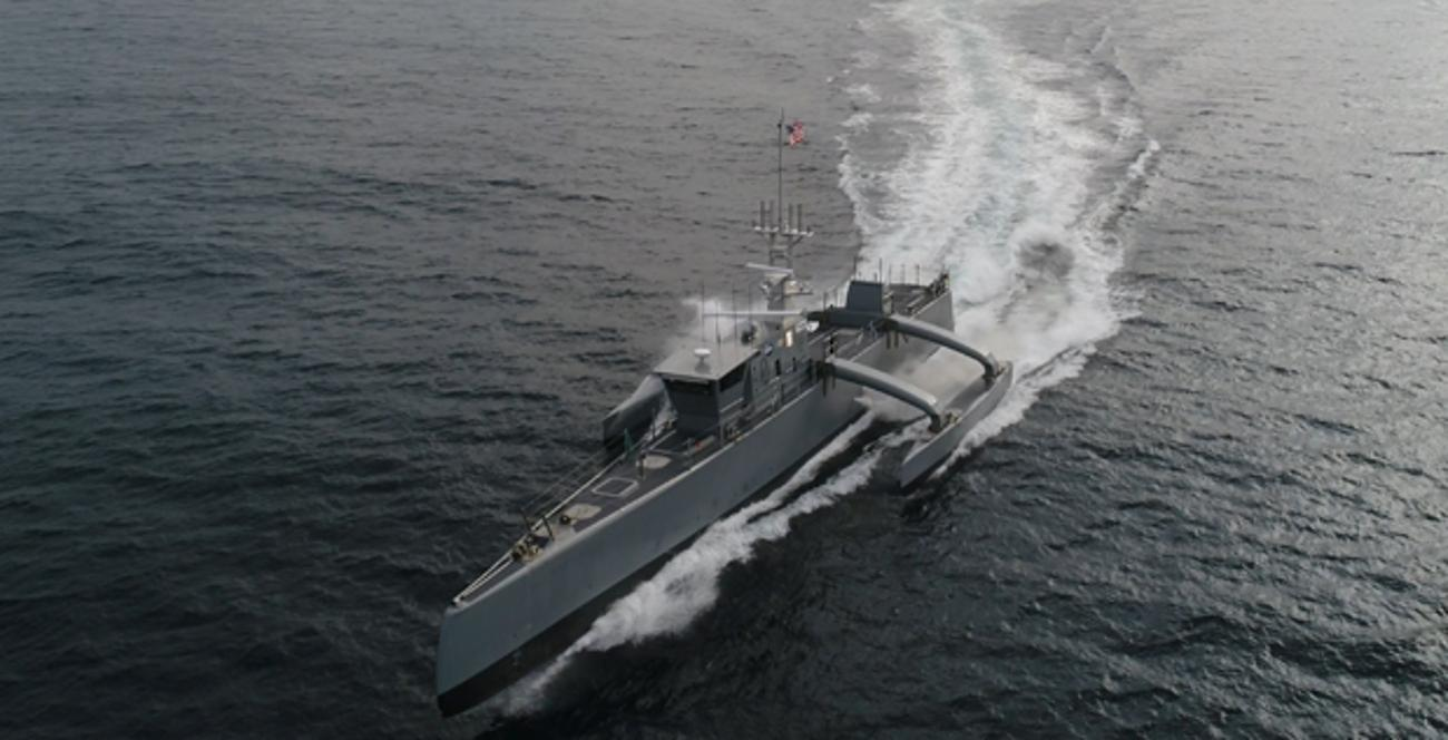 Following the successful completion of its Anti-Submarine Warfare (ASW) Continuous Trail Unmanned Vessel (ACTUV) program, DARPA has officially transferred the technology demonstration vessel, christened Sea Hunter, to the Office of Naval Research (ONR)