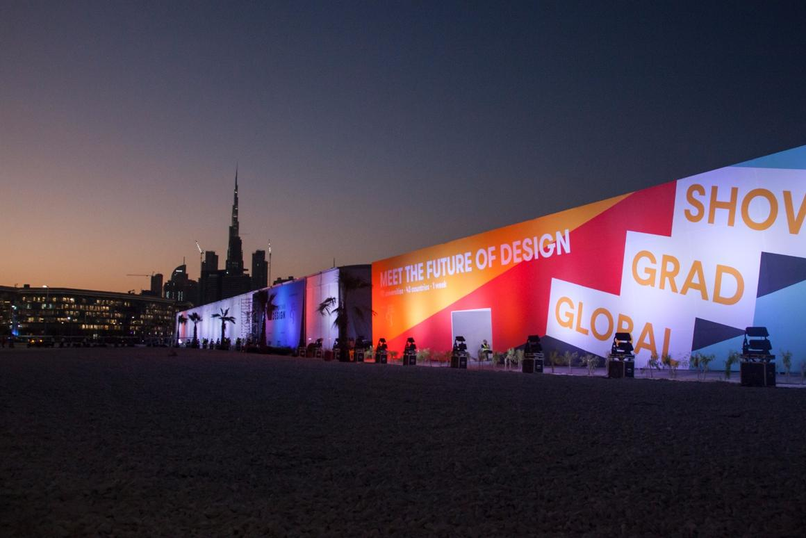 The Global Grad Show, part of Dubai Design Week that ran from November 13 to 18, is the largest student design show in the world