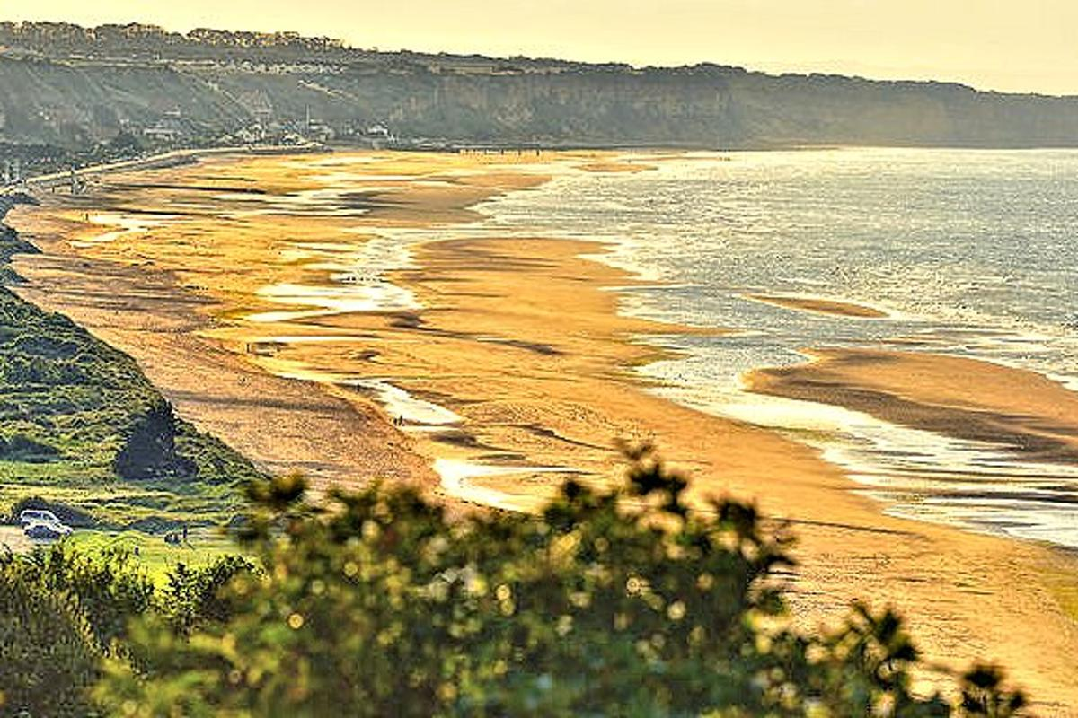 Omaha Beach in Normandy, France, as it appears today (Photo: Anton Bielousov via Wikipedia)