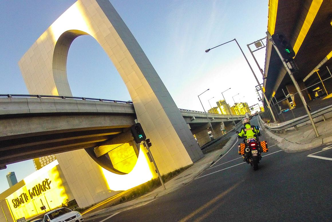 Jason Learmonth tells us about his bike, his gear, and the role of a motorcycle paramedic.