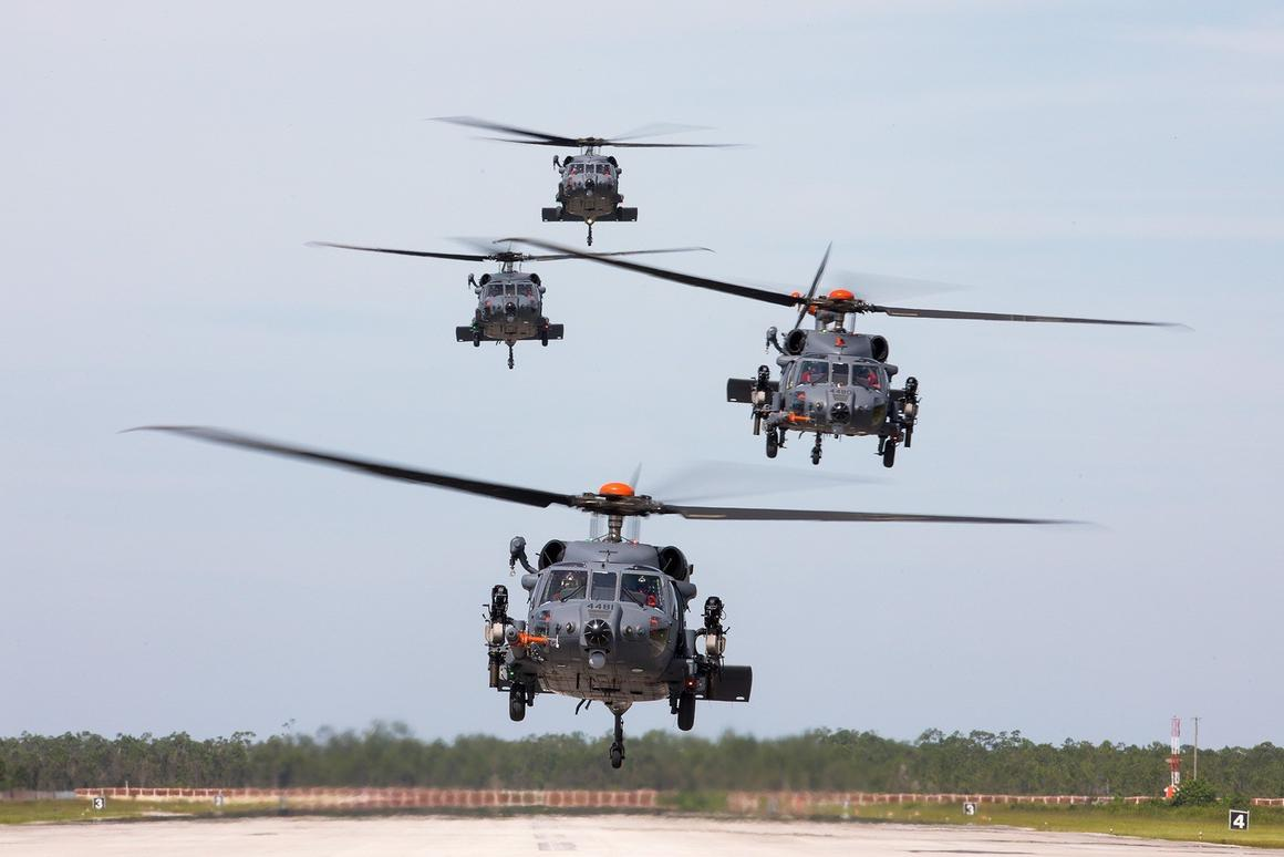 The Sikorsky Combat Rescue Helicopter