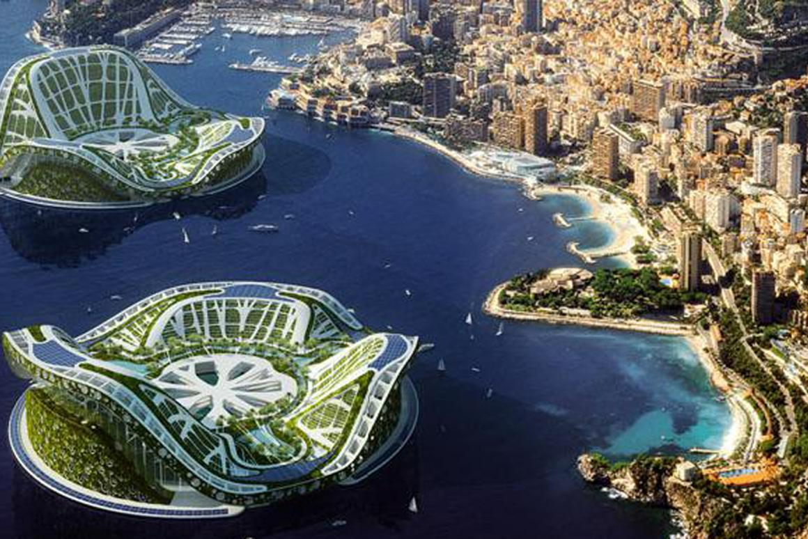 The Lilypad floating city concept is designed to house climate change refugees