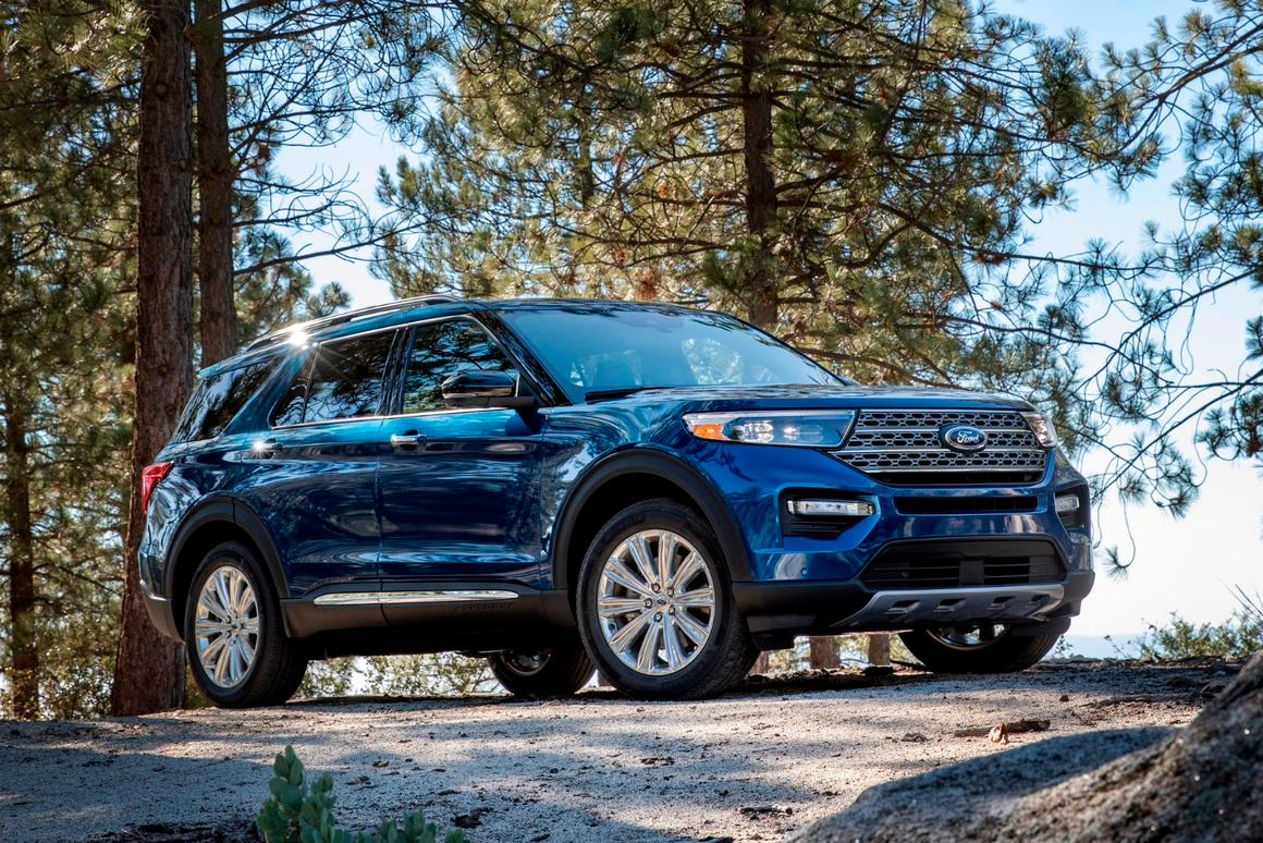 New Ford Explorer >> Ford Unveils All New 2020 Explorer Suv In Detroit