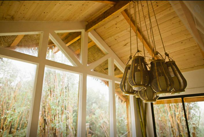 The treehouse measures roughly 21 sq m (230 sq ft) (Photo: Kristie Wolfe)