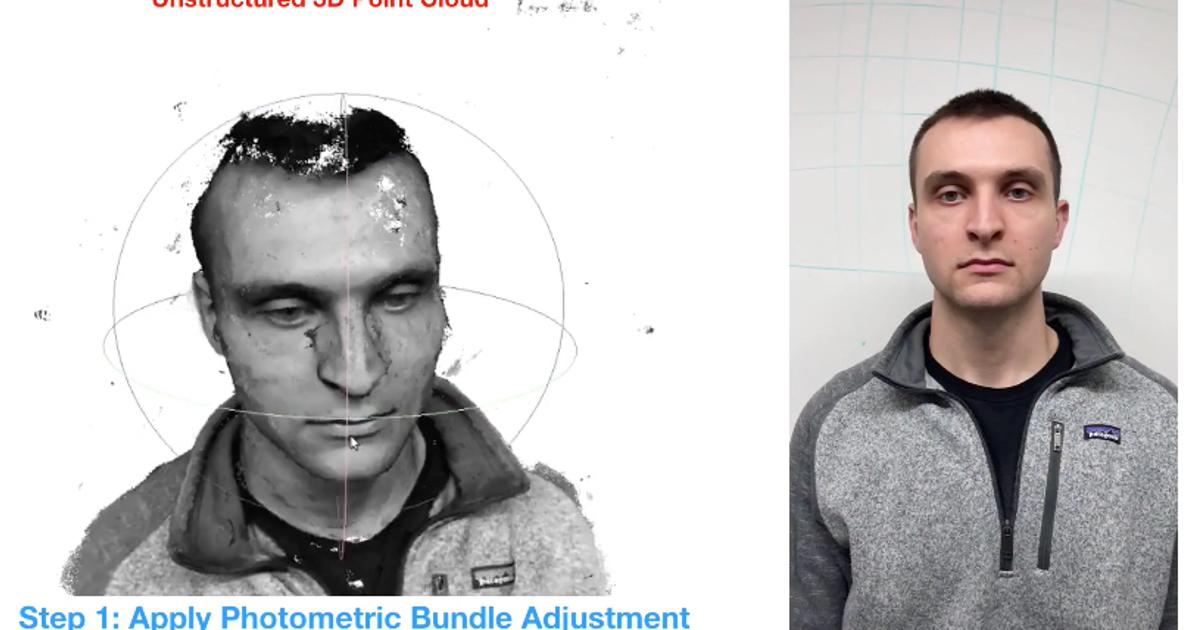 System uses smartphone video to produce detailed 3D facial models