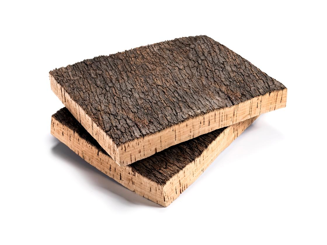 Cork bark is the raw material for the Helix cork