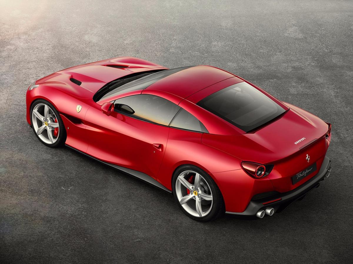 2018 Ferrari Portofino:replaces the California T as Ferrari's 'entry level' convertible