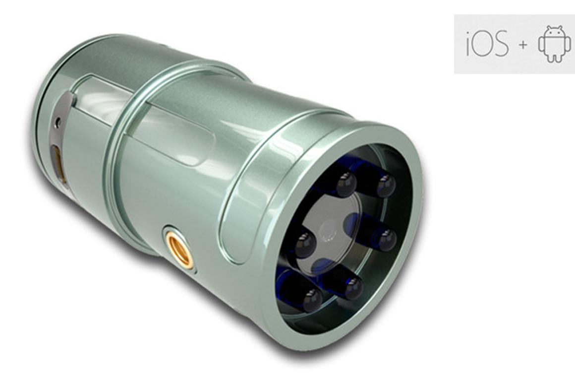 Snooperscope adds night vision to smartphone cameras