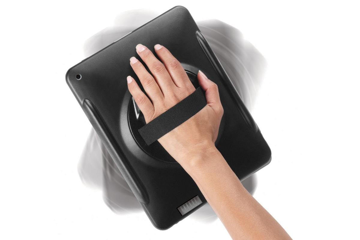 HandStand for iPad fits to a hand like a catcher's mitt
