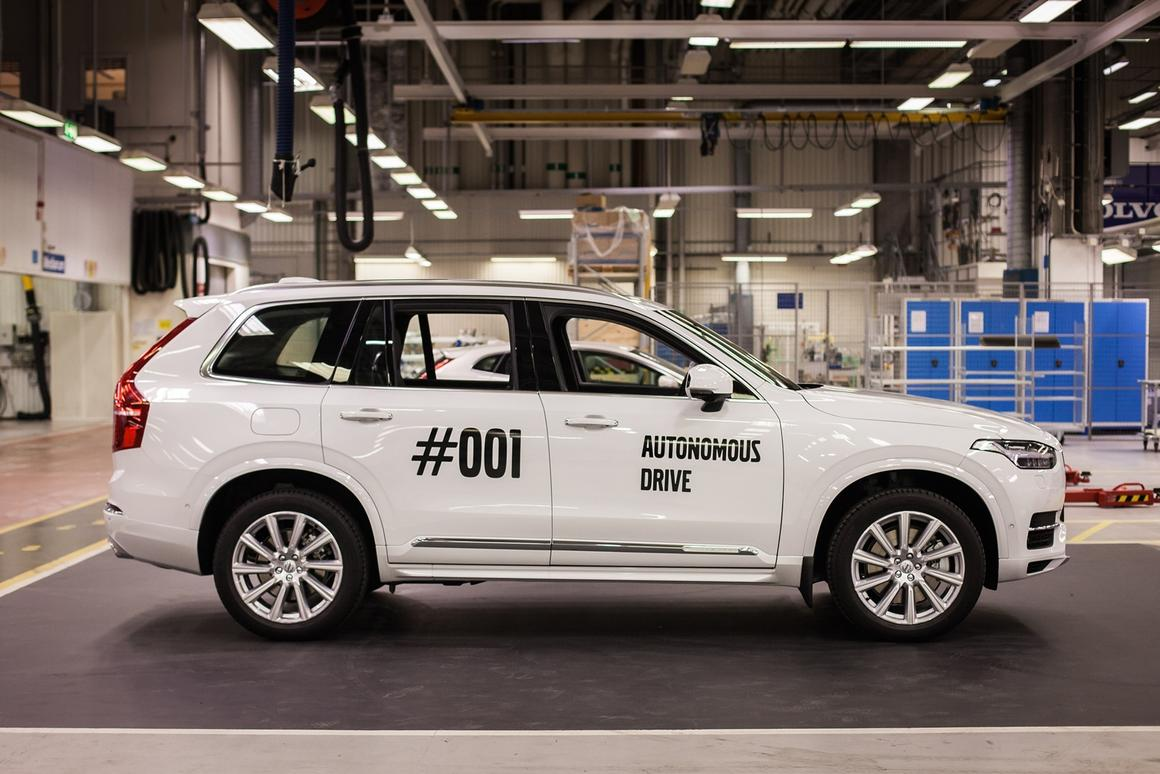 Volvo sees the production of the first fullyautonomous carfor its Drive Me trialas the beginning of the project