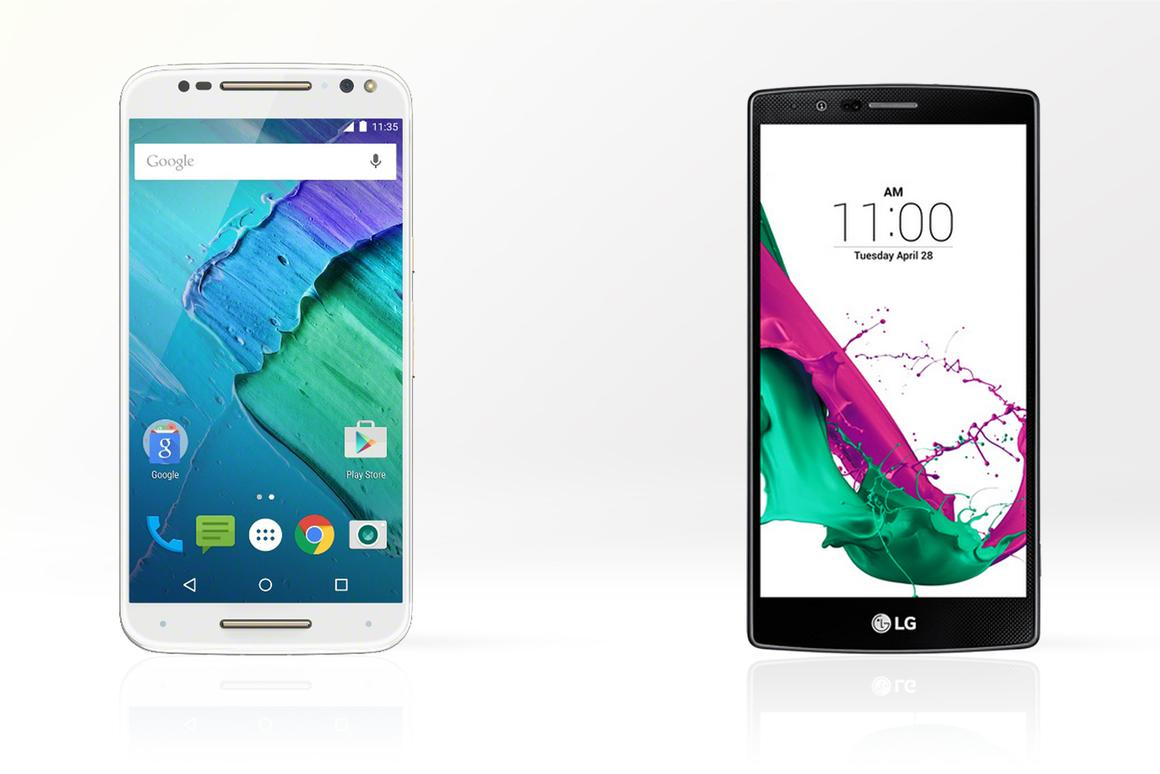 Motorola and LG's latest flagships have a lot in common, but which is the more compelling device?