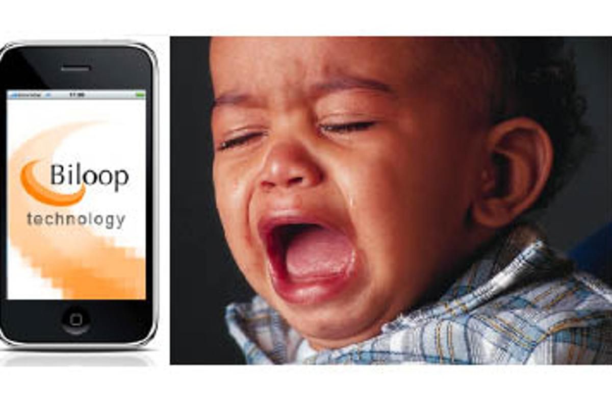 iPhone App tells you why your baby is crying