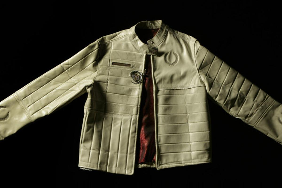 Platinum Dirt has launched a line of custom leather jackets, made from classic car upholstery