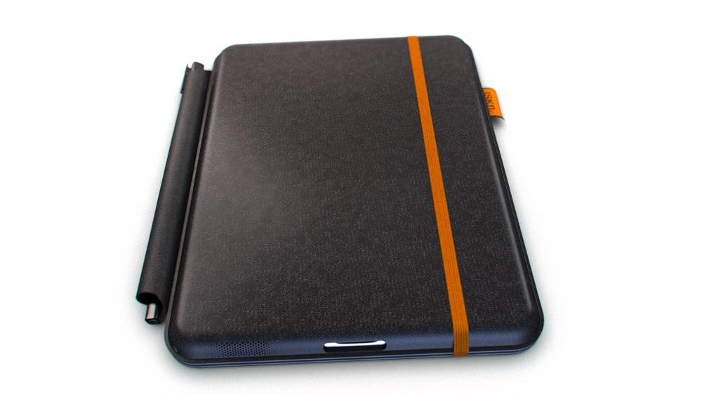 When closed the iSketchnote is a rugged and sturdy iPad case