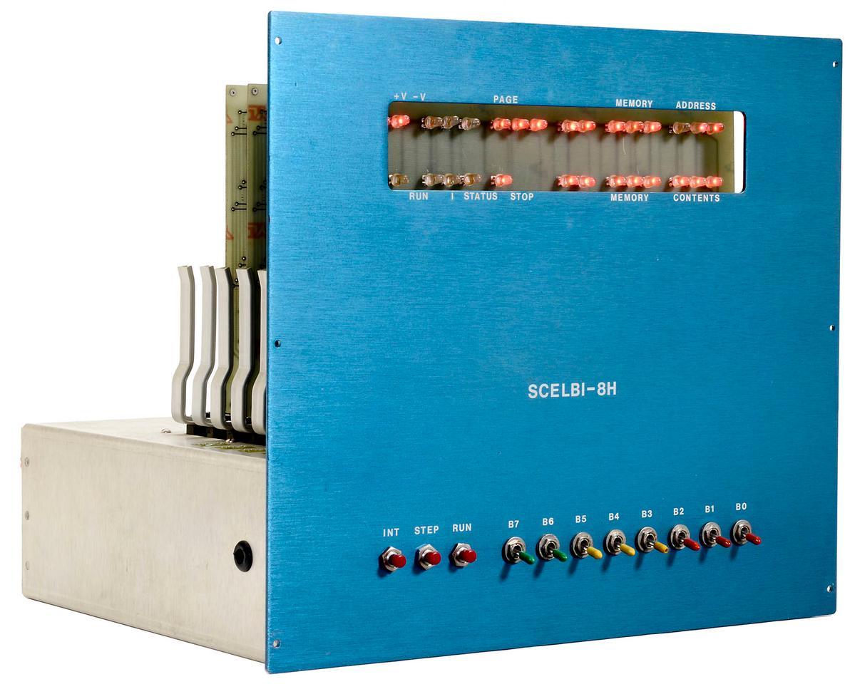 The SCELBI-8H mini computer