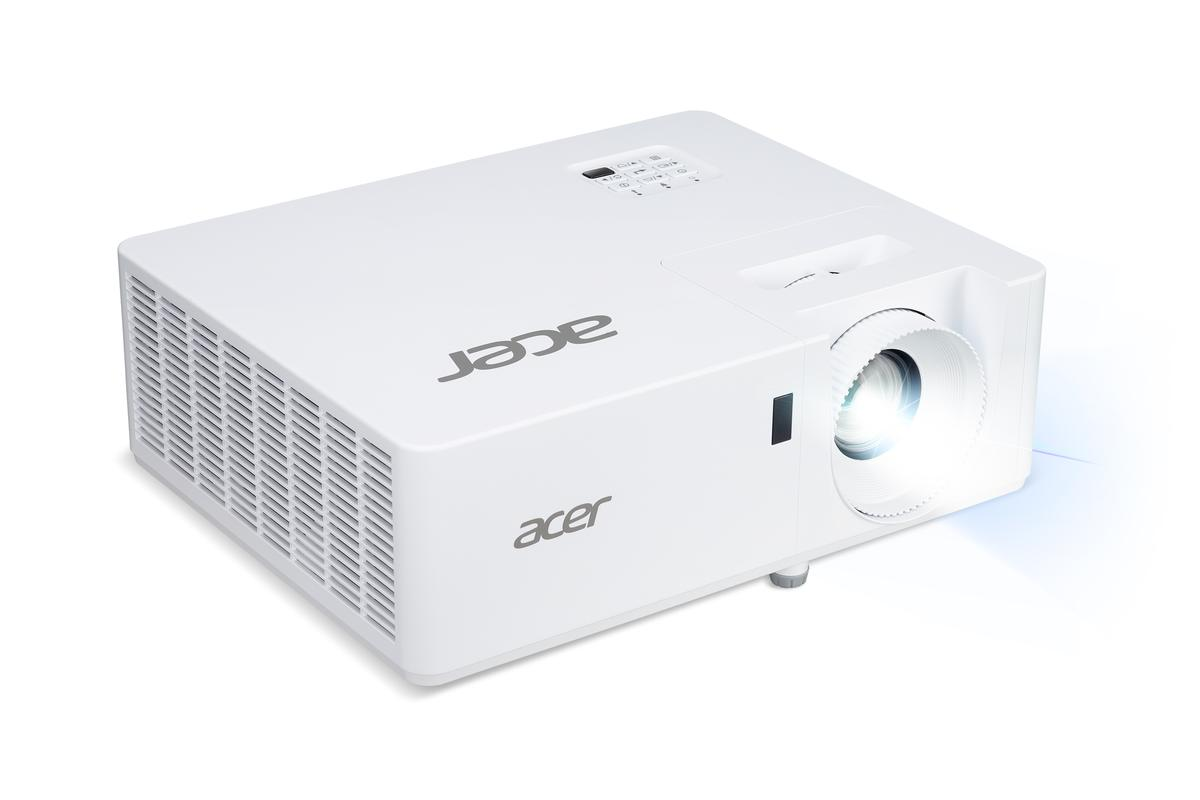 The low-power XL series laser projectors throw 1080p resolution projections at 3,100 ANSI lumens