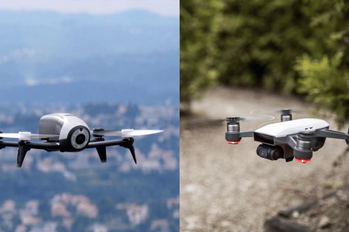 It's a Parrot vs DJI drone showdown
