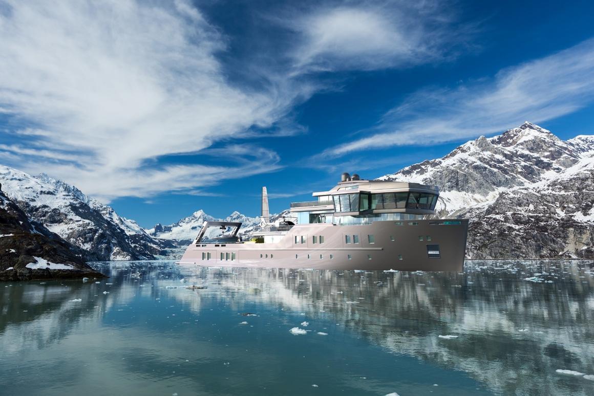 Ida Pfeifferis an ice-class vessel