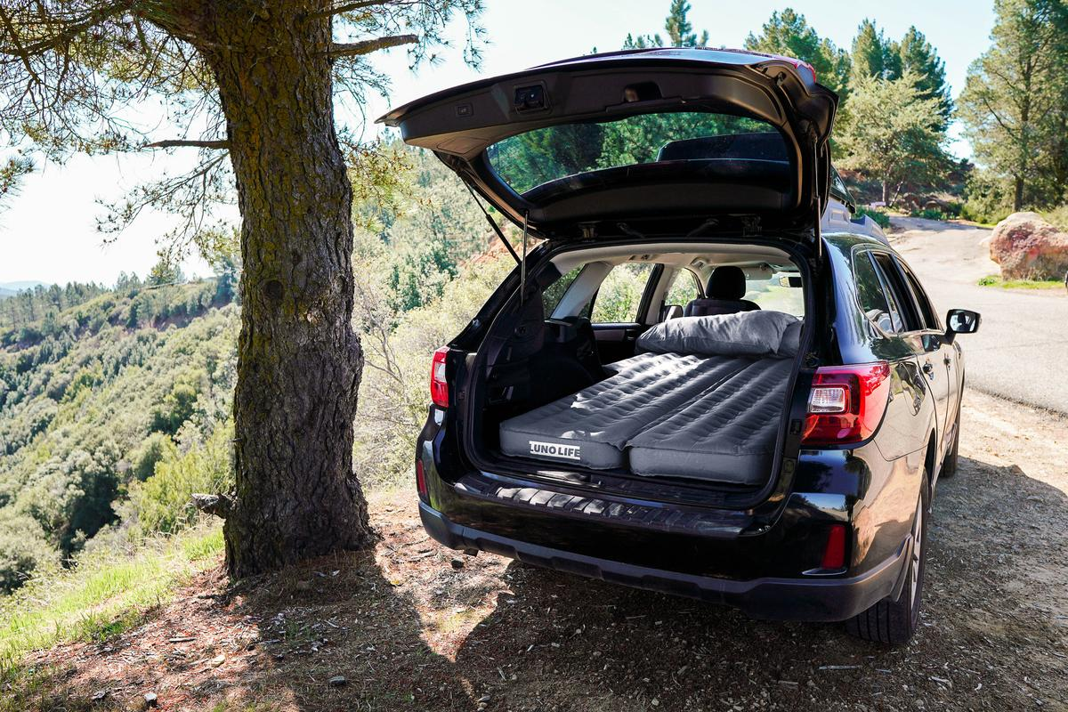 Luno Life offers a more tailored solution to the camping mattress thrown on your flat-folding seats